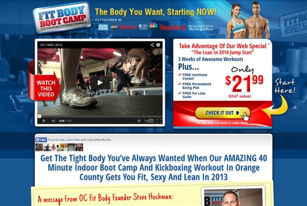 fit-body-boot-camp-web-design