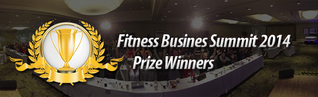 Fitness Busines Summit 2014 – Fitness Website Formula Prize Winners
